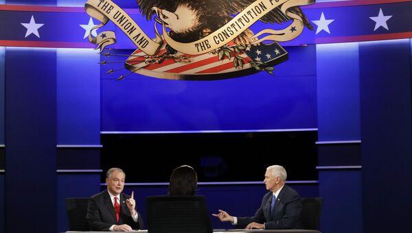 Дебаты кандидатов в вице-президенты США Тима Кейна и Майкла Пенса. 4 октября 2016