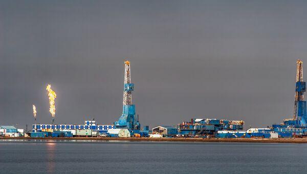 Газонефтяное месторождение на Аляске. Архивное фото