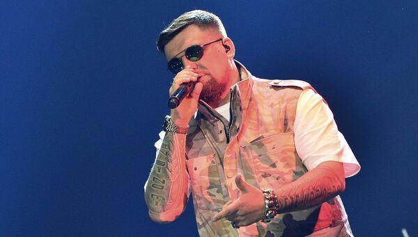 Рэп-исполнитель Баста (Василий Вакуленко). Архивное фото