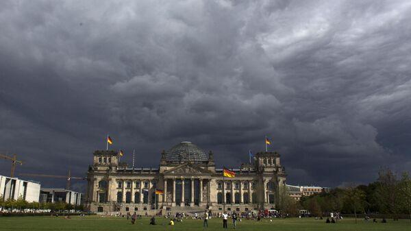 Здание Рейхстага в Берлине, Германия. Архивное фото