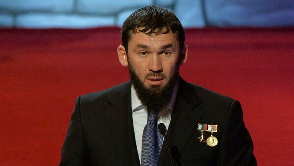 Избранный председателем парламента Чеченской Республики Магомед Даудов. Архивное фото