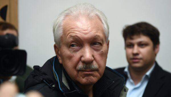 Бывший глава Коми Владимир Торлопов, обвиняемый в коррупции, в Басманном суде Москвы, где рассматривается ходатайство следствия о его аресте. Архивное фото