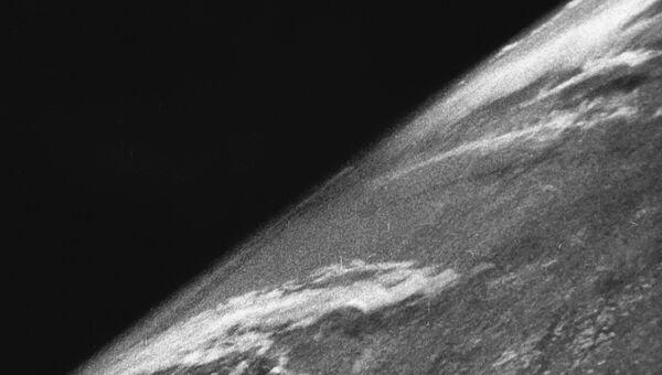 Первый снимок Земли из космоса. 24 октября 1946