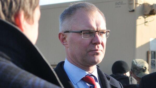 Министр обороны Эстонии Ханнес Хансо. Архивное фото