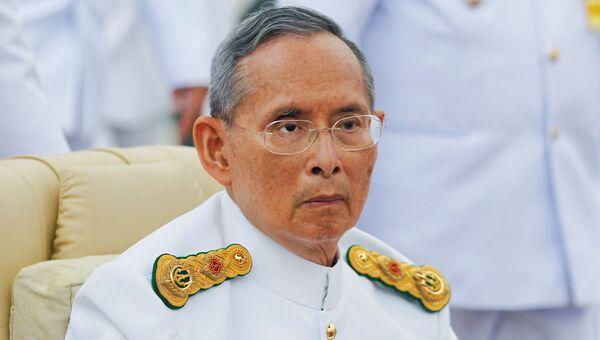 Король Таиланда Пхумипхон Адулъядет. 2012 год