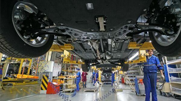 Производство автомобиля Hyundai Tuscon в Калиниграде