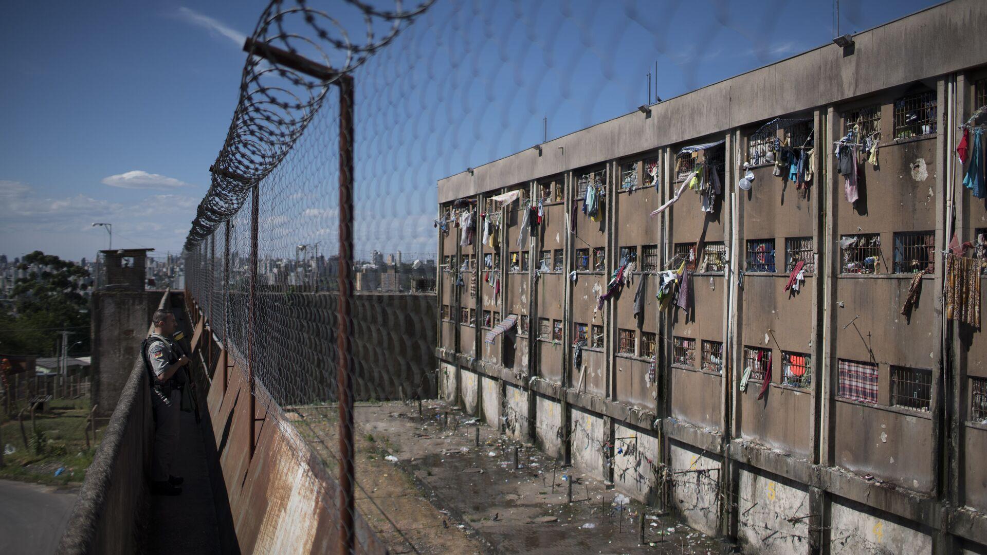 Тюрьма в Бразилии. Архивное фото - РИА Новости, 1920, 26.05.2017