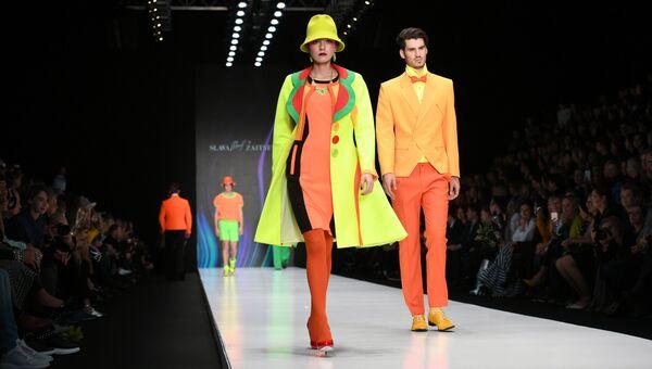 Показ коллекции одежды SLAVA ZAITSEV в рамках Mercedes-Benz Fashion Week в Москве. Архивное фото