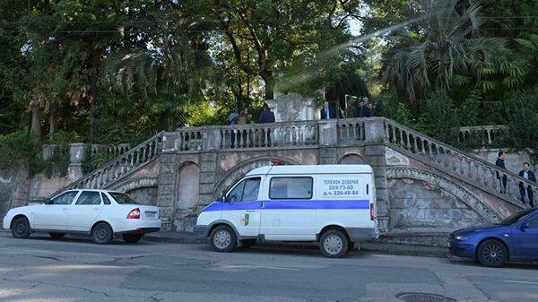 Полицейский автомобиль, Абхазия