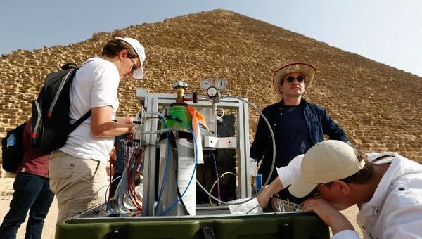 Ученые настраивают мюонный сканер для поиска пустот в пирамиде Хеопса