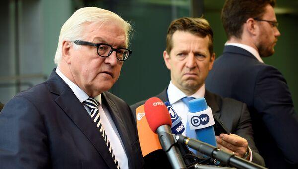 Министр иностранных дел Германии Франк-Вальтер Штайнмайер. Архивное фото