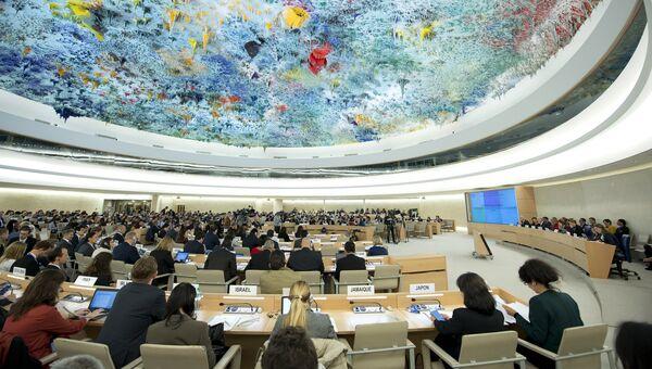 Специальная сессия Совета по правам человека ООН по ситуации в сирийском городе Алеппо в Женеве. Архивное фото