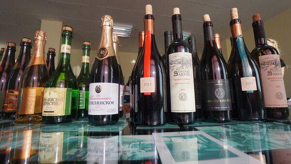 Российские вина. Архивное фото
