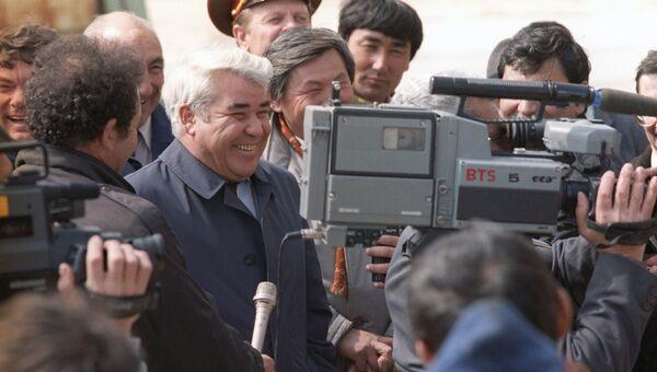 Первый президент Туркменистана Сапармурат Ниязов. Архивное фото