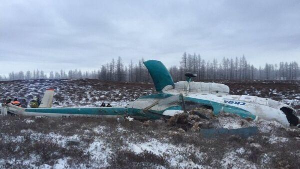 Крушение вертолета Ми-8 на Ямале. Октябрь 2016 года