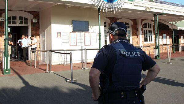 Австралийский полицейский. Архивное фото