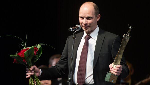 Коммерческий директор Ozon.ru Михаил Толоконников на церемонии награждения победителей премии Топ-1000 российских менеджеров