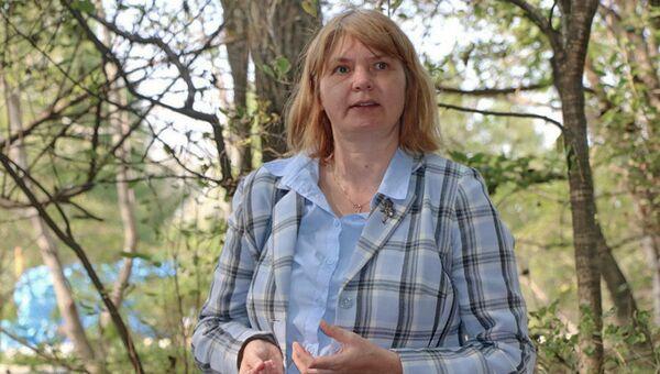 Директор заповедника Кедровая Падь и национального парка Земля леопарда  Татьяна Барановская