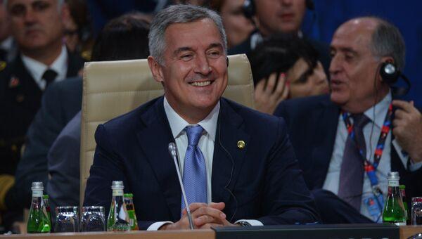 Премьер-министр Черногории Мило Джуканович