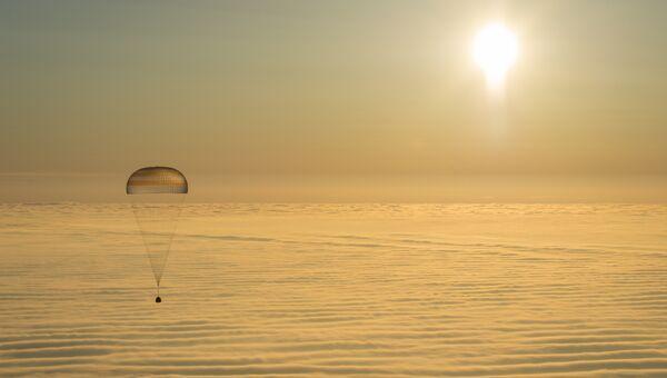 Капсула спускаемого аппарата корабля Союз ТМА-14М