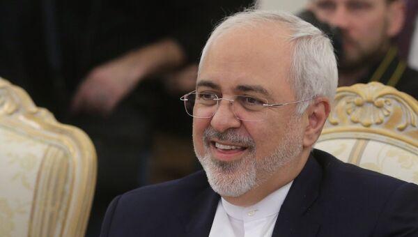 Министр иностранных дел Исламской Республики Иран Мухаммад Джавад Зариф. Архивное фото