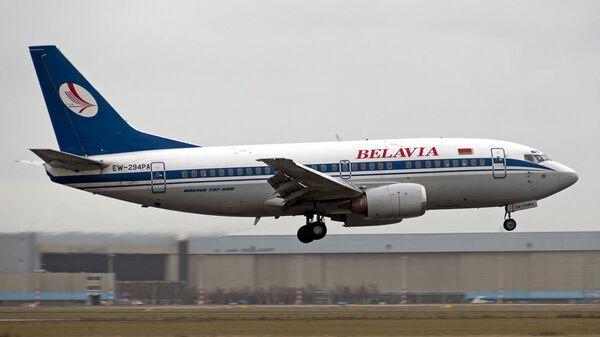 Самолет авиакомпании Белавиа. Архивное фото