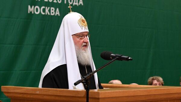 XX Всемирный Русский Народный Собор. Патриарх Кирилл