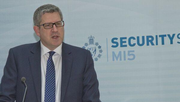 Руководитель службы контрразведки Великобритании Эндрю Паркер. Архивное фото