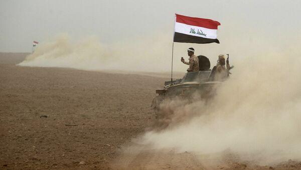Иракские военные в окрестностях Мосула. Архивное фото