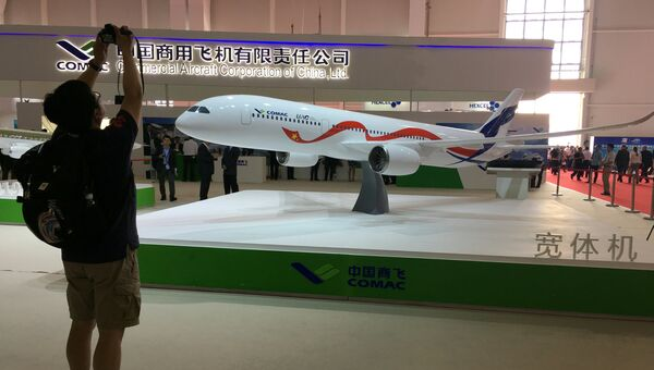 Посетитель 11-го Международный авиасалон Airshow China 2016 в Чжухае
