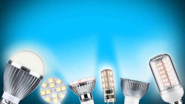 Светодиодные лампы. Архивное фото