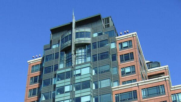Здание штаб-квартиры Европейского банка реконструкции и развития. Архивное фото