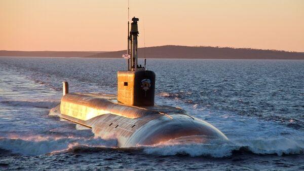 Атомный подводный ракетный крейсер проекта Борей