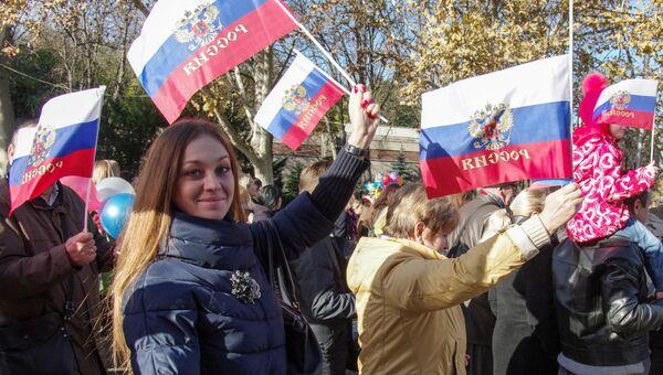 Я уверен, что наша идеология заключается в том, что мы должны быть великой мощной нацией, - заявил лидер партии Справедливая Россия Сергей Миронов в ходе праздничного концерта-митинга.