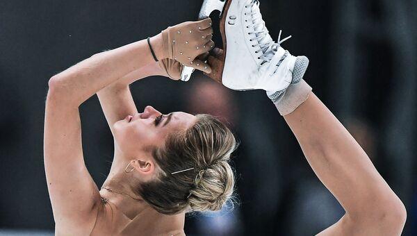 Российская фигуристка Елена Радионова. Архивное фото