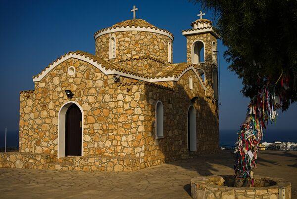 Церковь пророка Ильи в городе Протарас на Кипре