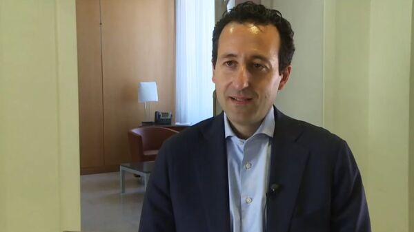 Руководитель операций Международного комитета Красного Креста на Ближнем Востоке Роберт Мардини