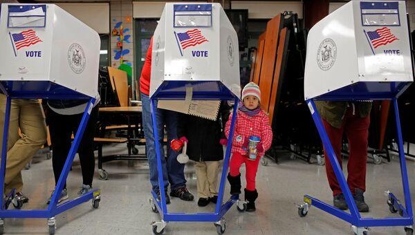 Голосование на выборах президента США в Нью-Йорке