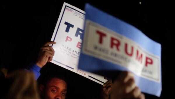 Ситуация у офисов избирательных кампаний кандидатов в президенты США