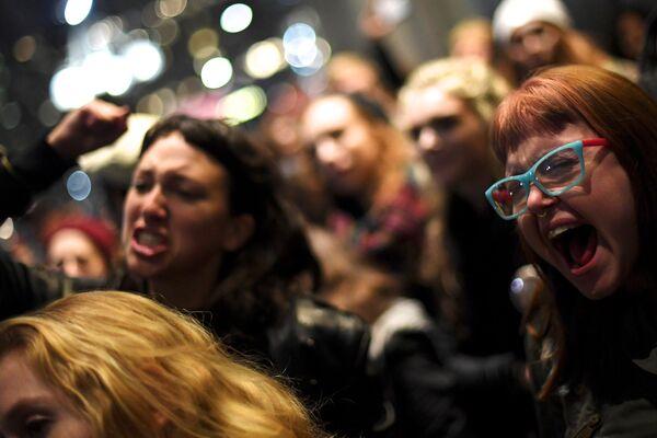 Протесты в Филадельфии после президентских выборов