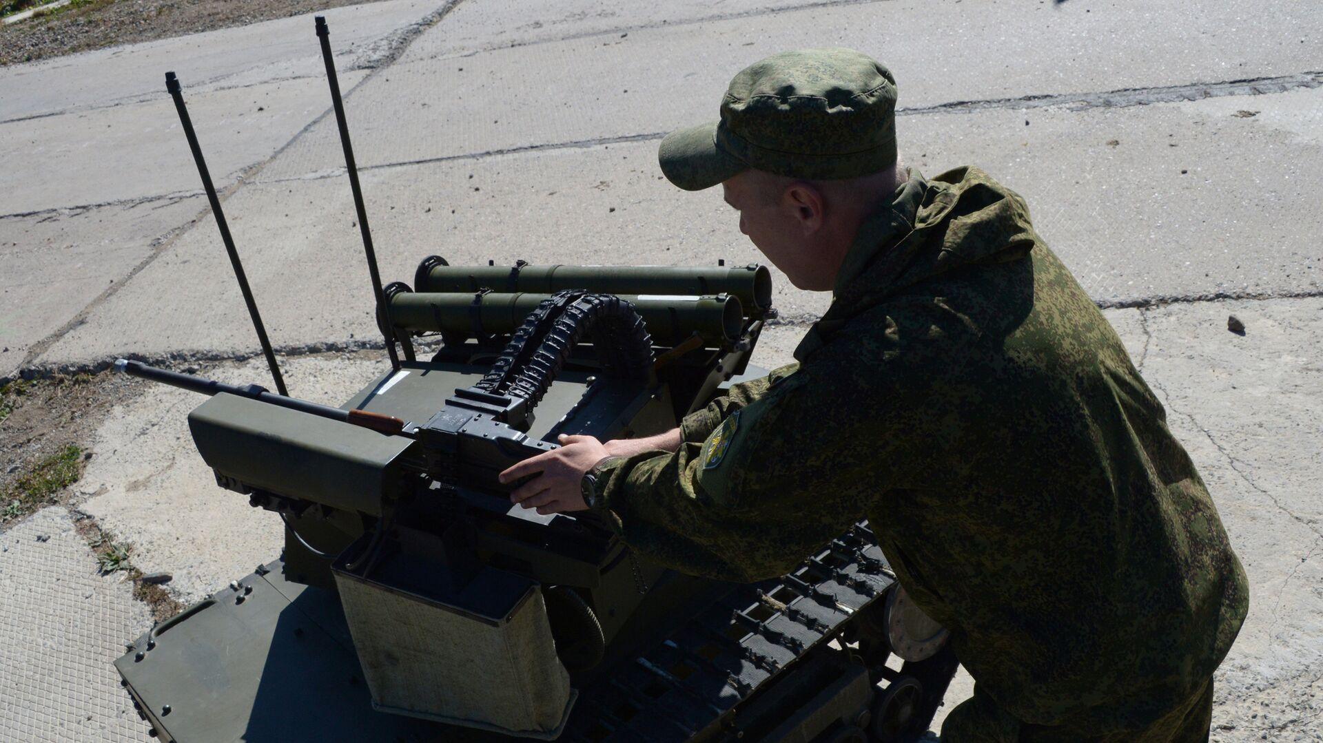В России разработают новейший тяжелый робот разминирования
