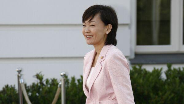 Супруга премьер-министра Японии Аки Абэ