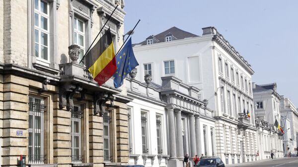 Здание парламента Бельгии в Брюсселе