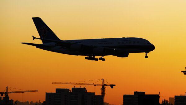 Самолет Airbus A380. Архивное фото