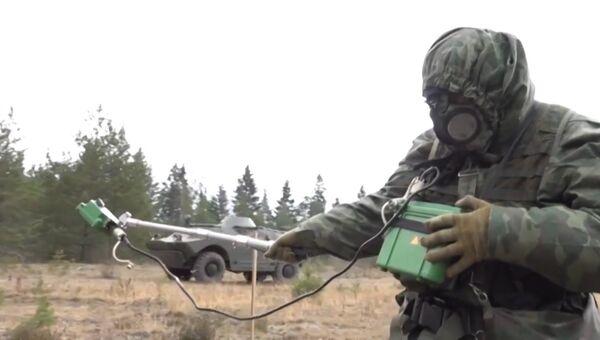 Радиометры, спецтехника и роботы: российские войска РХБЗ в действии