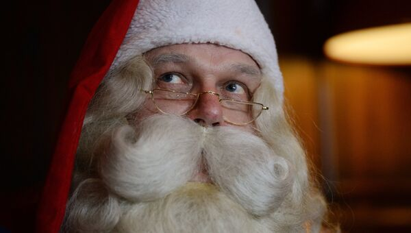 Финский Санта-Клаус Йоулупукки. Архивное фото