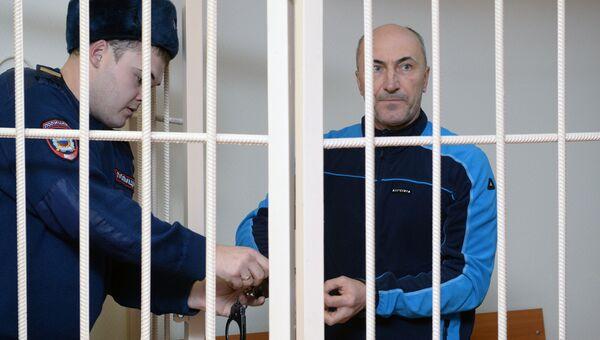 Заместитель губернатора Кемеровской области Алексей Иванов в Центральном районном суде Новосибирска