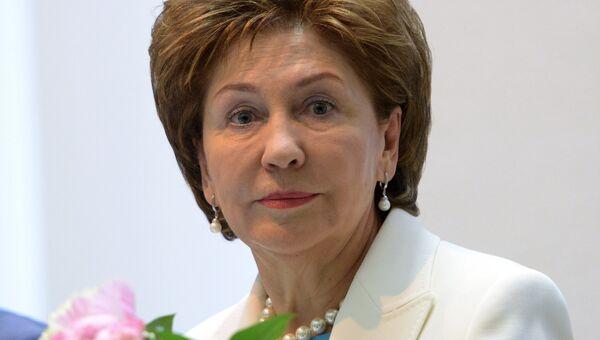 Заместитель председателя Совета Федерации Галина Карелова. Архивное фото