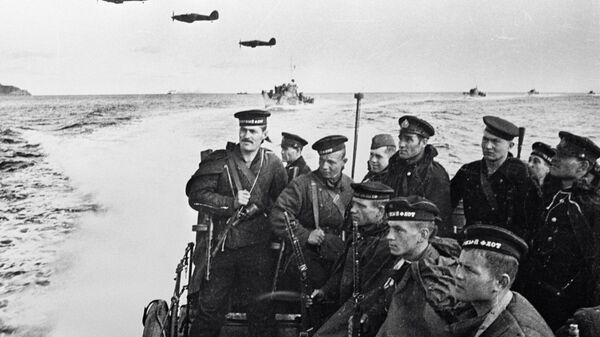 Морские пехотинцы во время Великой Отечественной войны