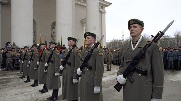 Служащие литовской национальной армии